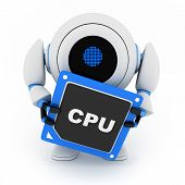 Robot y Cpu