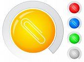 Buttons Paper Clip
