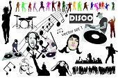 Vector disco mega mix set