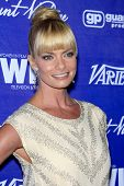LOS ANGELES - SEP 21:  Jaime Pressly arrives at the Variety and Women in Film Pre-Emmy Event at Scar