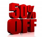 3d 50 percent discount