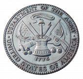 US Army commemorative plaque