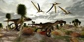 Utahraptor Jagd