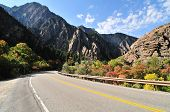 Highway To The Big Cottonwood Canyon