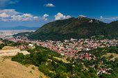 Brasov Downtown Cityscape, Romania