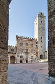 Palazzo Del Popolo In San Gimignano