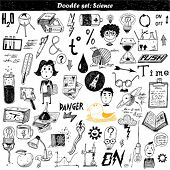 big doodle set - science