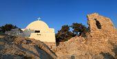 Monolithos Castle Church