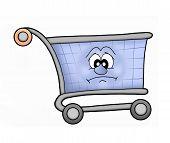 Shoping Cart Sad