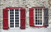Vitre, Brittany, Windows