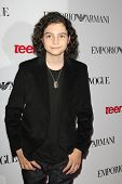 BEVERLY HILLS - SEP 27:  Max Burkholder at the Teen Vogue's 10th Anniversary Annual Young Hollywood