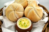 Round Rolls And Butter