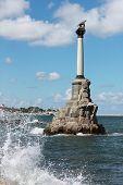 Monument to the Scuttled Warships in Sevastopol, Crimea, Ukraine