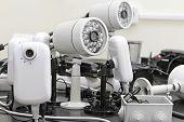 Cámaras de CCTV precableadas