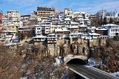 Old Town Veliko Tarnovo in Bulgaria Europe