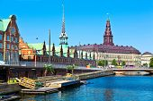 stock photo of scandinavian  - Copenhagen - JPG