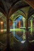 stock photo of cistern  - Ancient Portuguese Cistern in El Jadida Morocco - JPG