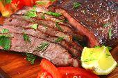 Roast Beef Meat Slices