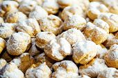 Pile of Cream Puffs