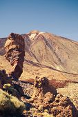 Mount Teide volcano and rocks