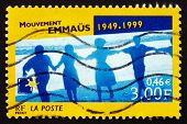 Postage Stamp France 1999 Emmaus Movement