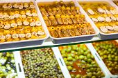 Typical Spanish Food Market.
