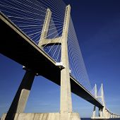 Under Vasco Da Gama Bridge