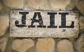 Jail word sign