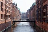Hamburg Speicherstadt Canal