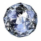 Piedra de la gema azul