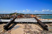Ghana: Cannons Of Elmina Castle World Heritage Site, History Of Slavery