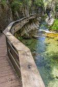 Garganta cerrada De Elias en el Parque Nacional de Cazorla