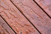 Water Beading On Freshly Sealed Deck
