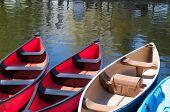 Verleih-Kanus am Dows Lake