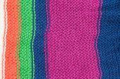 Padrão de textura de fios de lã