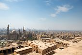 View of Cairo slums