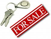 For Sale Sign House Keys