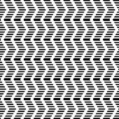 Seamless geometric zigzag pattern. Striped texture. Vector art.