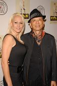 Bridgette Newell and James Hong at the premiere of
