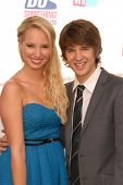 Molly McCook and Devon Werkheiser at the VH1 2010 Do Something Awards, Palladium, Hollywood, CA. 07-19-10