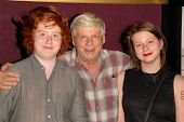 Robert Morse with Charles and Allyn Morse at AMC's