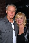 Bruce Boxleitner and Cindy Morgan at the TRON Legacy
