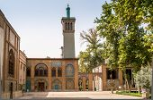 stock photo of tehran  - The oldest of the historic monuments in Tehran  - JPG