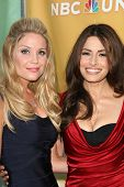 Virgina Williams and Sarah Shahi at the NBC Summer Press Tour Party, Beverly Hilton Hotel, Beverly H