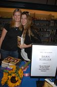 Emily Steele and Dawn Schiller  at a signing for Dawn Schiller's The Road Through