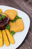 Fingerfood On A Plate