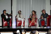 Mario Lopez, Yandel, Jennifer Lopez, Enrique Iglesias at the Jennifer Lopez and Enrique Iglesias Summer Tour 2012 Press Conference, Blvd. 3, Hollywood, CA 04-30-12