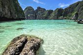 Maya Bay, Phi Phi Leh Island,thailand , Asia