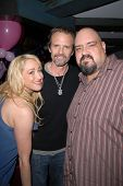 Jennifer Blanc-Biehn, Michael Biehn and Travis Romero at Jennifer Blanc-Biehn's Birthday Party, Sard