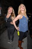 Evie Thompson and Jennifer Blanc-Biehn at Jennifer Blanc-Biehn's Birthday Party, Sardos, Burbank, CA
